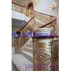 优质工艺铝雕花楼梯扶手 厂家艺术楼梯护栏图片
