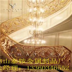 高档铜扶手定做的厂家图片