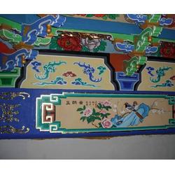 牡丹区仿古酒店彩绘公司-山东新鸿彩绘技术精湛图片