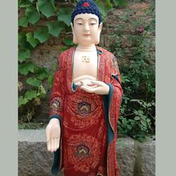 泰安佛像彩绘_山东新鸿彩绘值得信赖_佛像彩绘施工图片