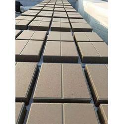 透水砖现货、长旺建材(原宝坻富强水泥制厂)、透水砖图片
