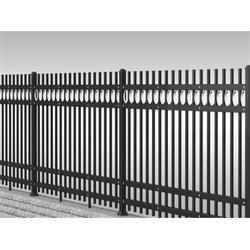 鑫川丝网(图)|空调锌钢围栏生产厂家|邢台空调锌钢围栏图片