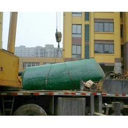 玻璃钢化粪池定做,安徽玻璃钢化粪池,安徽百岳市政设施工程图片