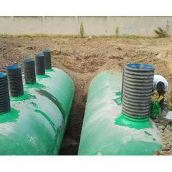 生产玻璃钢化粪池厂家-安徽百岳(在线咨询)芜湖玻璃钢化粪池图片