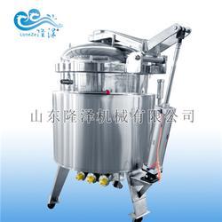 隆泽机械(图) 小梅零食蘑菇浸糖锅 蘑菇浸糖锅图片