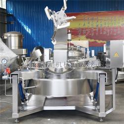 大锅炖菜机器-食堂专用炒菜机 -全自动商用炒菜机图片