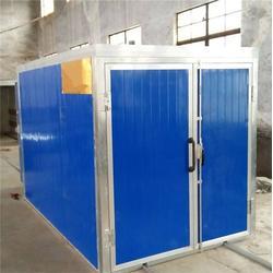 伸缩移动环保喷漆房厂家,兴义市环保喷漆房,万阳机械(查看)图片