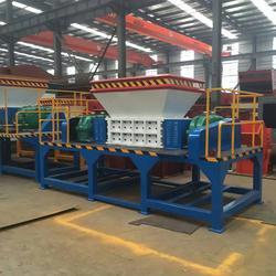塑料双轴撕碎机厂家,吴堡县双轴撕碎机,万阳机械(查看)图片