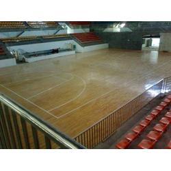 篮球馆运动木地板面板选材很重要金华篮球馆运动木地板、睿聪体育图片