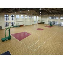 体育运动实木地板的性能优势、睿聪体育、襄阳体育运动木地板图片