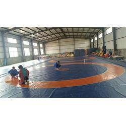 摔跤训练垫子摔跤垫|摔跤垫|华翔摔跤垫厂家图片