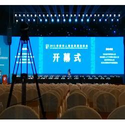 LED显示屏安装公司_山东红果传媒_泰安LED显示屏安装图片