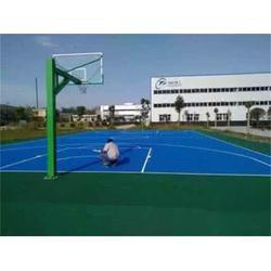 河北硅pu篮球场_硅pu篮球场铺设_奥琦体育(优质商家)图片