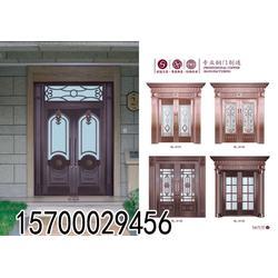 别墅玻璃铜门|别墅玻璃铜门哪家好|【永艺门业】(优质商家)图片