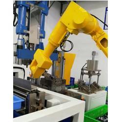 液压机上下料机器人、华亭智能、上下料机器人图片