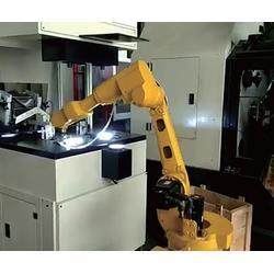 冲床上下料机器人、上下料机器人、华亭智能机器人(查看)图片