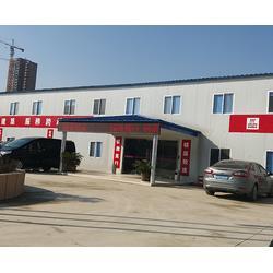 合肥活动房-合肥亚邦活动房厂家-双层彩钢活动房图片