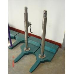 带轮移动式羽毛球柱-羽毛球柱-体操器材图片