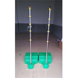 鹰潭羽毛球柱、移动式羽毛球柱高度、嘉时体育(优质商家)图片
