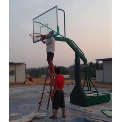 石嘴山电动液压篮球架-电动液压篮球架质量-嘉时体育图片