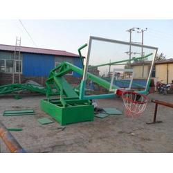 箱式篮球架-嘉时体育-移动箱式篮球架图片