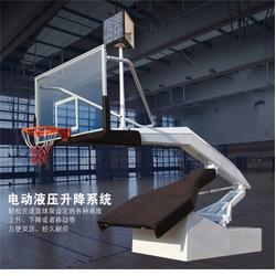 博尔塔拉液压篮球架体育馆篮球架现货-嘉时体育图片