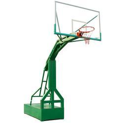 嘉时体育-神农架林区凹箱篮球架仿液压式篮球架图片