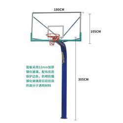 嘉时体育(多图)-汉中比赛电动液压篮球架公园篮球架图片