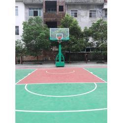 永丰篮球架,篮球架尺寸,特冠体育(优质商家)图片