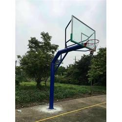 篮球架人造草足球场-特冠体育(在线咨询)-吉安市篮球架图片
