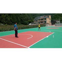 特冠体育设施有限公司 硅pu球场-南昌硅pu图片