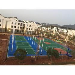 特冠体育设施有限公司 丙烯酸球场施工-吉安市丙烯酸球场图片
