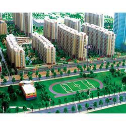 建筑模型_山西沙盘模型制作_木质建筑模型制作图片
