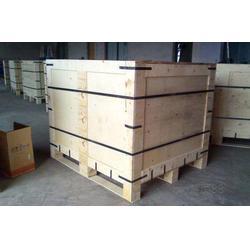 汕尾原木包装箱、原木包装箱、茶山三鑫卡板加工厂图片