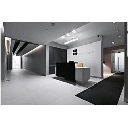 办公室装修实景图-沃尔森装饰设计工程(在线咨询)-办公室装修图片