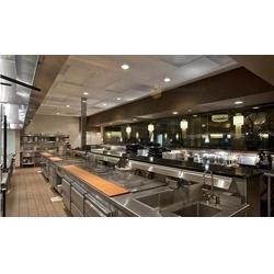 工厂厨房装修-沃尔森装饰设计-工厂厨房装修施工图片
