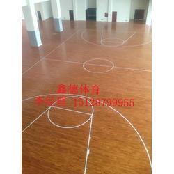 篮球馆运动木地板厂家低廉图片