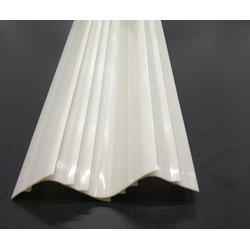ABS异型材 塑料挤出异型材 LED灯具塑料配件 ABS异型挤出型材图片