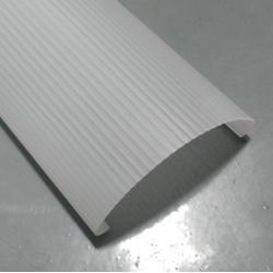 LED灯管PMMA磨砂亚克力灯罩外壳配件 LED灯罩图片