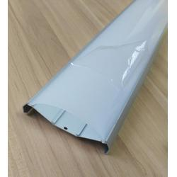 led三防灯套件 三防灯外壳 pc灯罩 pc双色全塑管 塑料灯罩图片