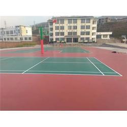 安庆球场|睿天科技公司|塑胶球场厂家图片