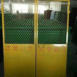 施工安全门-武汉利盛源鑫围栏-施工安全门厂家图片