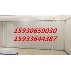 高飞门业PVC折叠门生产厂家 优质的质量 低廉的图片