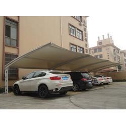 膜结构停车棚造价-遮阳膜结构-停车棚图片