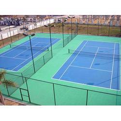 昆明PVC运动地板厂家-玉溪PVC运动地板-宏山球场地坪铺设图片