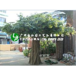 仿真大树大型假树仿真绿植仿真榕树室内包柱子樱花树红枫树桃花树图片