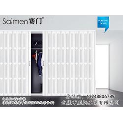 嘉兴PVC折叠门、【彪炳工贸】、厨房PVC折叠门图片