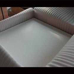 涛鸿耐磨材料(图),聚四氟乙烯板钢结构垫板,许昌聚四氟乙烯板图片