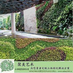 通辽植物墙,聚美艺术,高清绿植墙图片