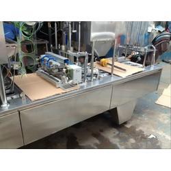 供应BG60气动杯装全自动灌装封口机设备图片